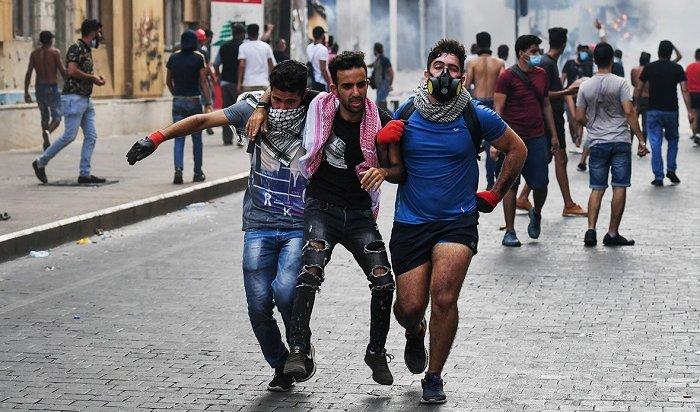 ВБейруте прошли уличные беспорядки (Видео)