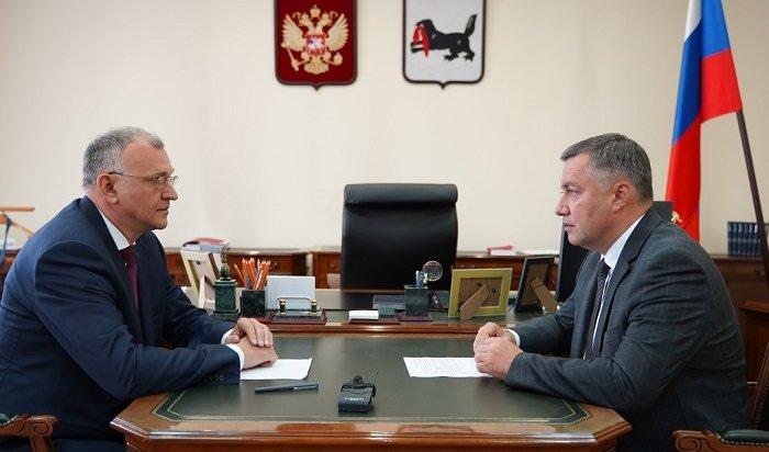 Бывшего руководителя СУИркутской области назначили иозаместителя председателя правительства региона