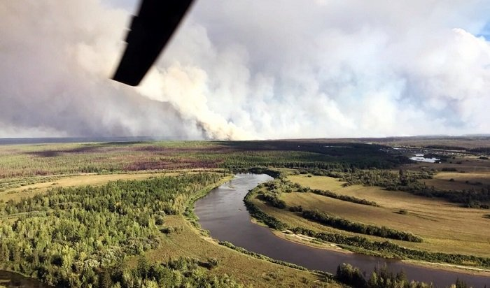 Иркутскую область все больше охватывает дым отлесных пожаров
