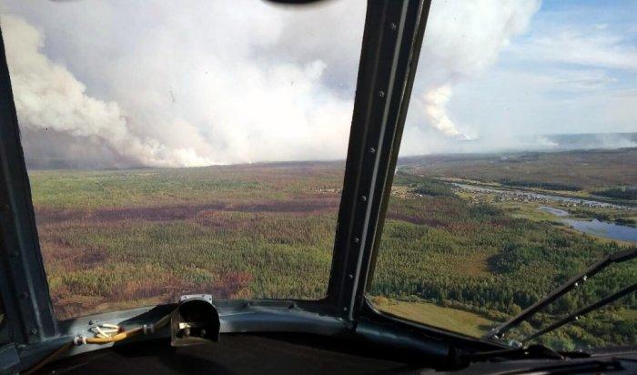 В Прианграрье ликвидировали 10 лесных пожаров