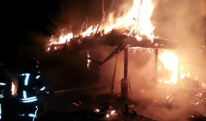 3больших возгорания пожарные потушили запрошедшую ночь вИркутской области