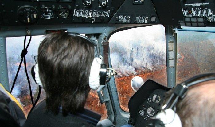 За прошедшие сутки в Приангарье потушили 16 лесных пожаров