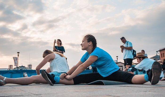 Иркутян приглашают набесплатные тренировки врамках проекта «Зеленый Фитнес»