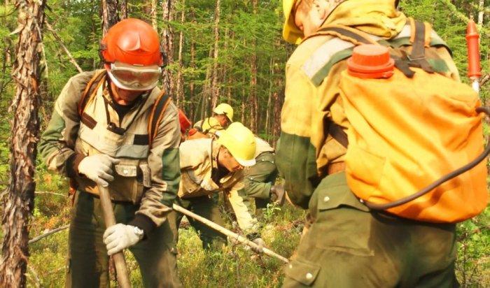 ВИркутской области увеличивается количество лесных пожаров