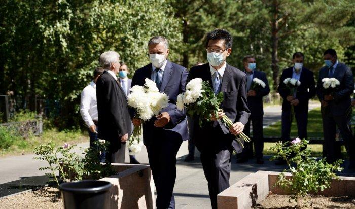 ВШелехове почтили память японского политика Сигэки Мори