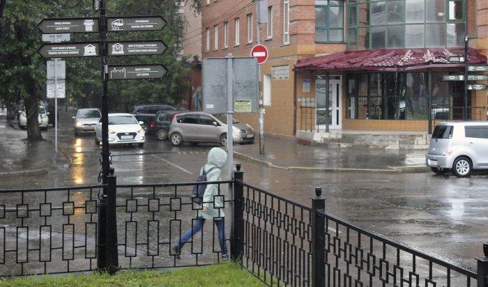 Сильные дожди игрозы прогнозируют 22-24августа вИркутской области