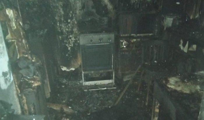 Шесть человек спасли изпожара сегодня ночью вИркутске
