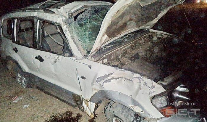 ВБратске три девочки пострадали из-за пьяного 18-летнего водителя (Видео)