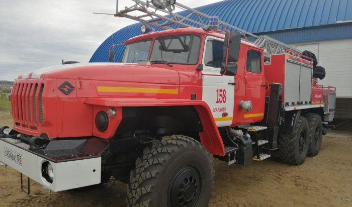 Впоселке Маркова открылась своя пожарная часть