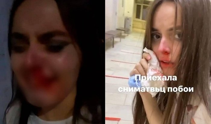 Cтанцевавшей вобразе монашки российской блогерше разбили лицо (Видео)
