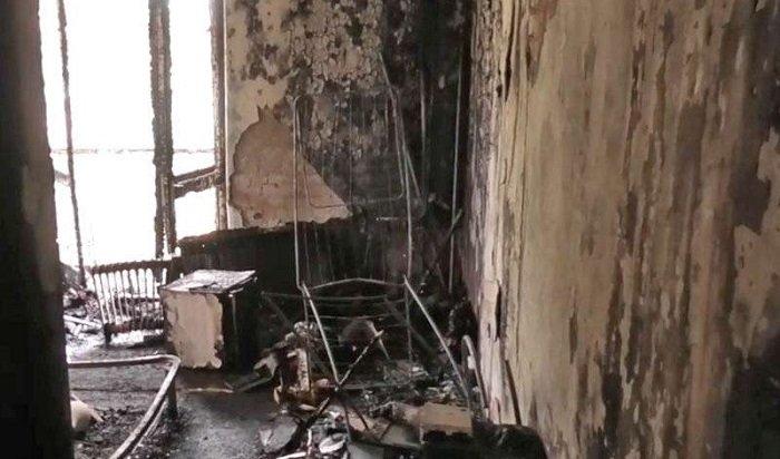 ВИркутске задержан подозреваемый вкраже ипоследующем поджоге квартиры (Видео)