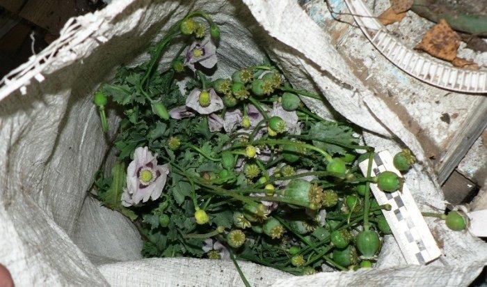 ВНижнеудинске полиция задержала подозреваемого вхранении наркотиков