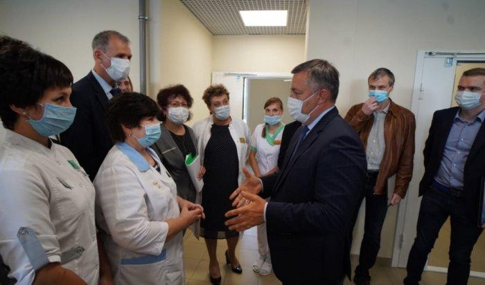 ВТулуне завершилось строительство новой детской поликлиники