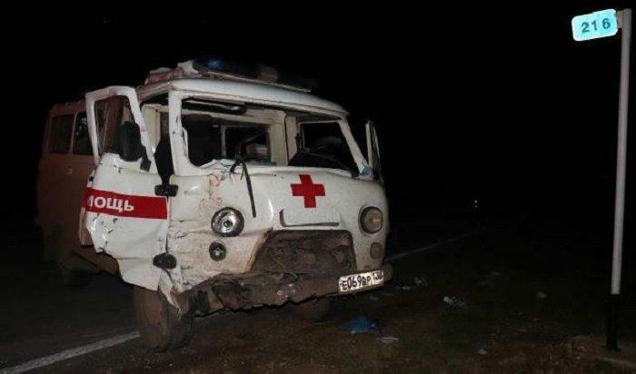Семь человек пострадали вДТП сучастием машины скорой помощи