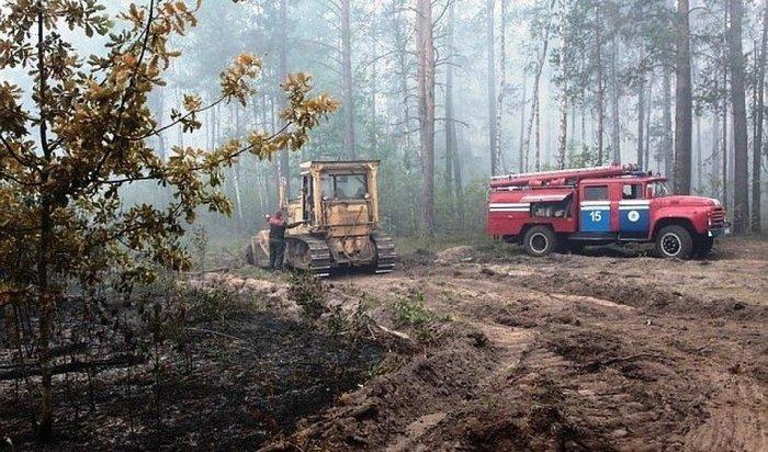 Более 41тысячи гектаров леса горит вПриангарье