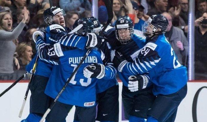 Финляндия отказалась отучастия вчемпионате мира похоккею смячом вИркутске