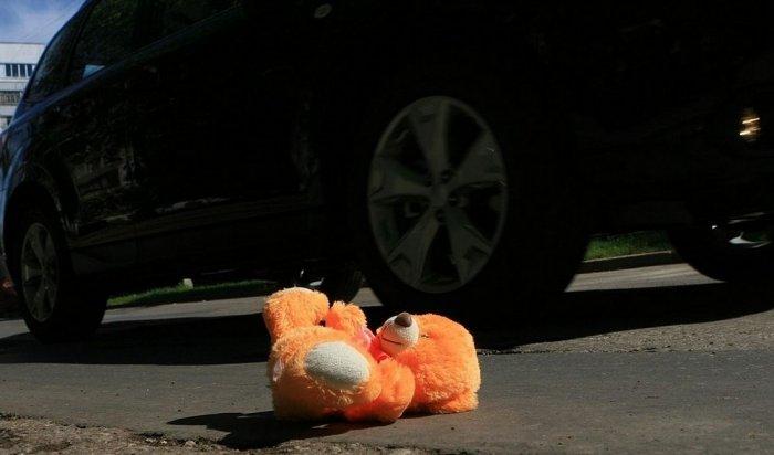 ВБратске водитель сбил трехлетнего ребенка искрылся
