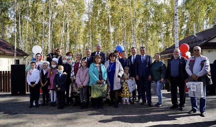 Жители Тулуна получили ключи отновых домов