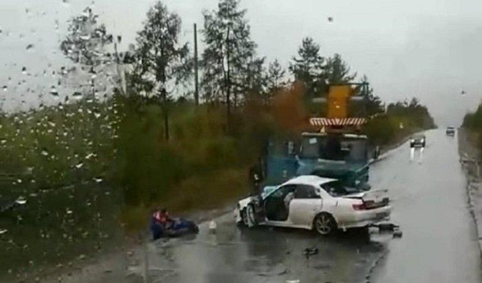20-летний парень погиб вДТП наавтодороге Братск— ж/р Порожский (Видео)