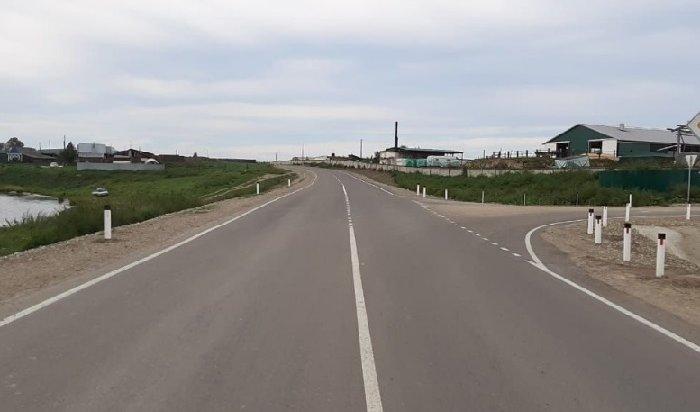ВУсольском районе отремонтировали автодорогу «Тельма— Раздолье»