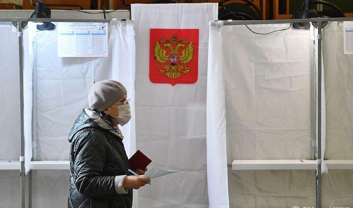 Явка избирателей на выборах в Иркутской области составляет более 17 процентов