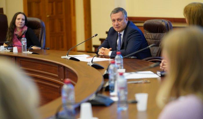 Новый состав правительства Иркутской области сформируют втечение трех месяцев