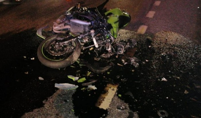 Погиб мотоциклист наулице Сергеева (Видео)