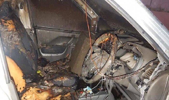 ВИркутске полицейские задержали подозреваемого вподжоге автомобиля (Видео)