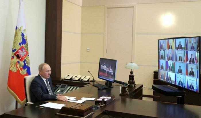 Владимир Путин провел заседание сглавами регионов