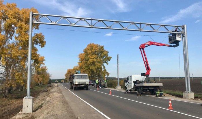 ВИркутской области устанавливают первый автоматический пункт весогабаритного контроля