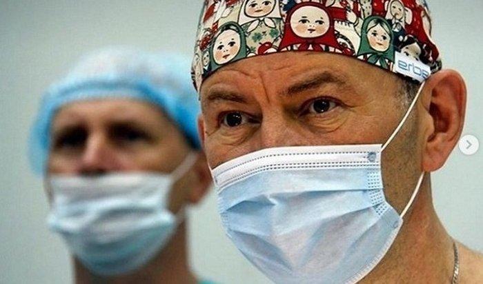 Детскому хирургу Юрию Козлову присвоено звание Почетный гражданин Иркутской области
