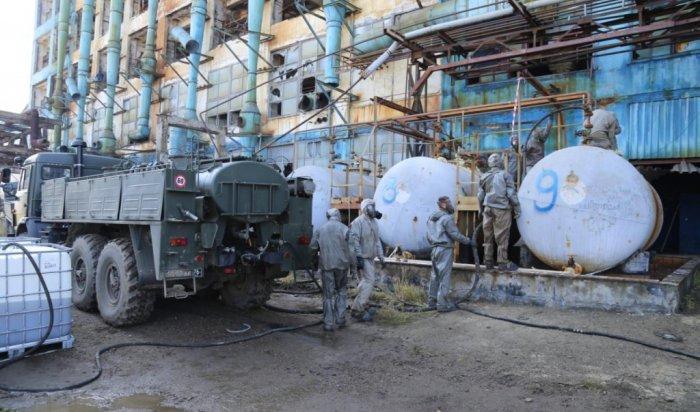 Наплощадке Усольехимпрома начали демонтаж цеха ртутного электролиза