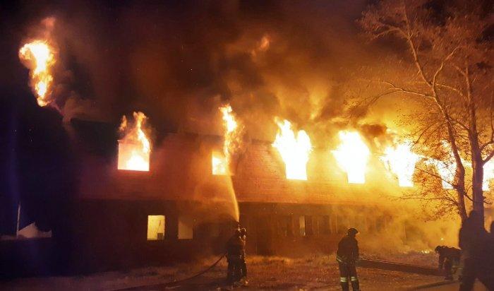 18пожаров ликвидировали вИркутской области засутки