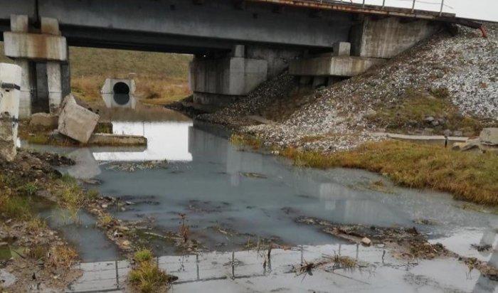 Жители Шелехова жалуются назагрязнение реки Олха