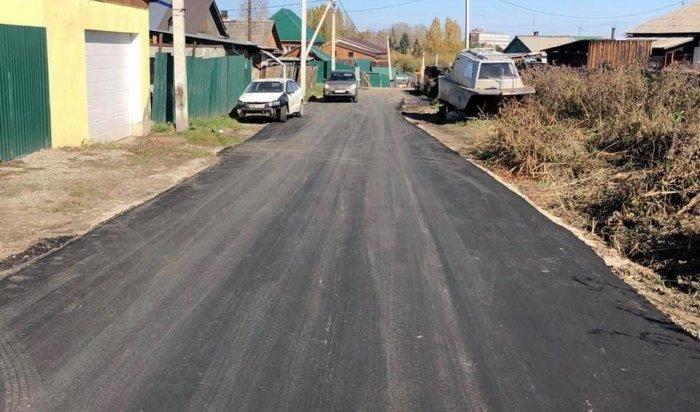 Депутат Думы Иркутска проверил качество благоустройства частного сектора 3-го поселка ГЭС