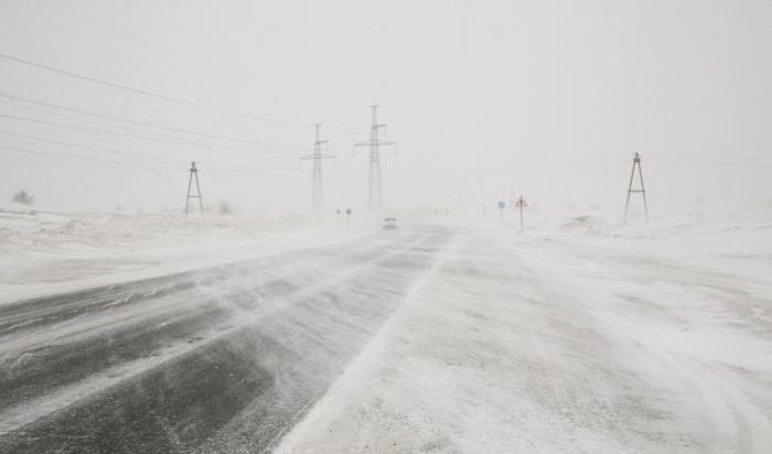 Участок дороги Р-258 «Байкал» временно перекрыли из-за снегопада