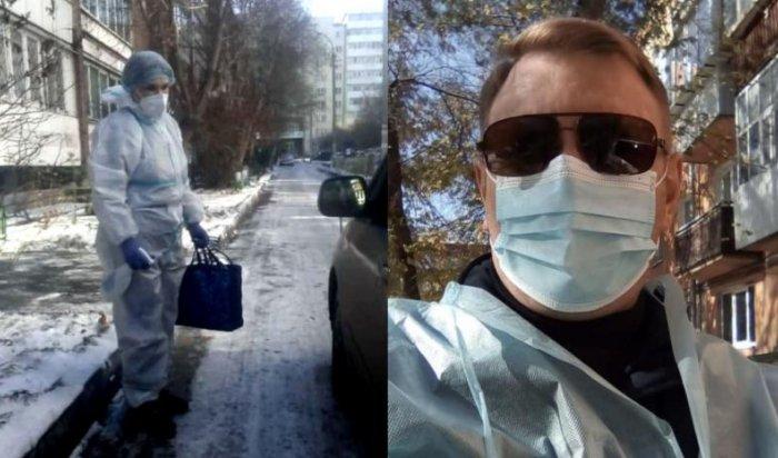 11машин предоставили предприниматели больницам для выездов кпациентам вИркутской области