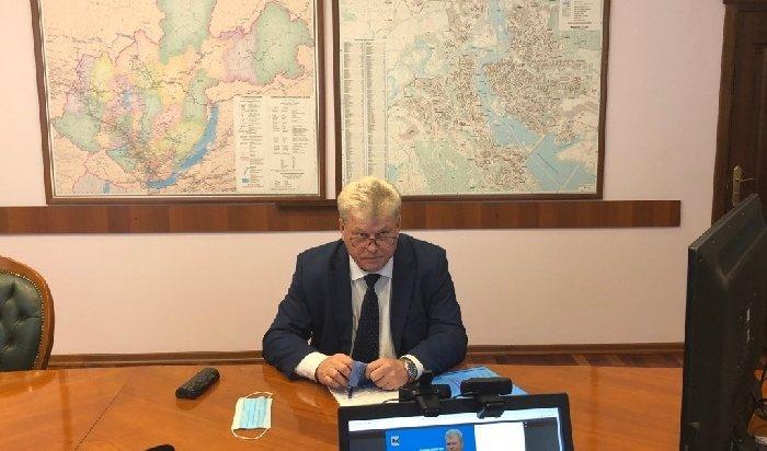 Министр соцразвития, опеки ипопечительства Иркутской области провел прямой эфир всоцсетях