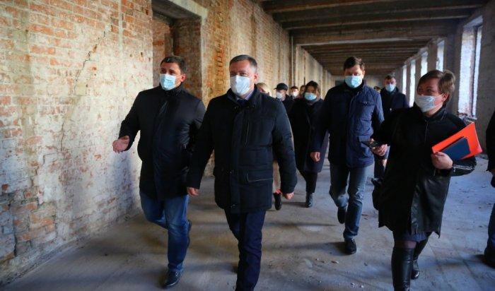 Подрядчик вближайшее время начнет строительство Суворовского училища вИркутске