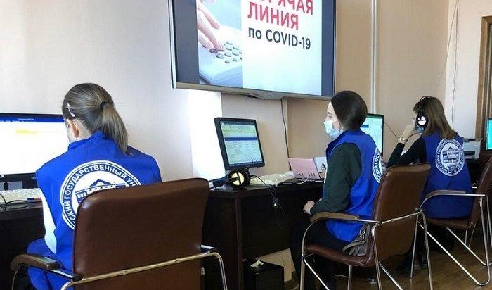 Пять тысяч звонков ежедневно поступает нагорячую линию покоронавирусу вИркутской области