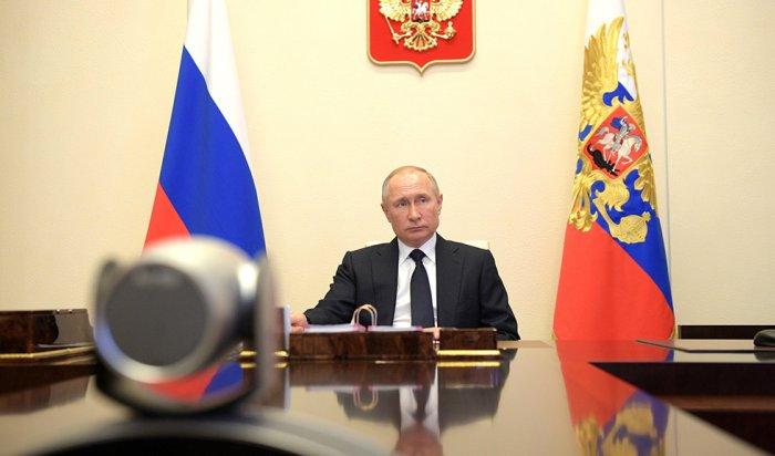 Путин пообещал невводить тотальных ограничений из-за COVID-19