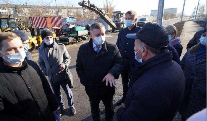 Подрядчик, реконструирующий улицу Баумана в Иркутске, может быть внесен в список недобросовестных