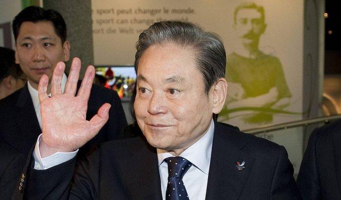 Умер глава Samsung ЛиГон Хи