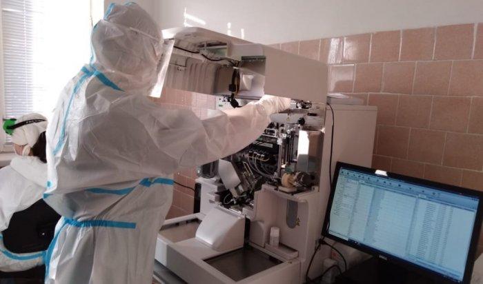 Для Братской ЦРБ приобретен высокоточный анализатор крови на COVID-19