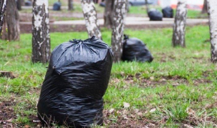 Семь тонн мусора вывезли изгородских лесов Иркутска