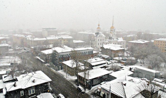 Завтра вИркутске ожидается сильный ветер игололедица