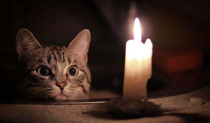 Плановое отключение света ожидается в некоторых домах Иркутска