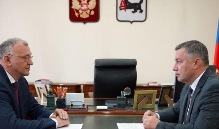Заместитель губернатора Иркутской области Андрей Бунёв госпитализирован сCOVID-19