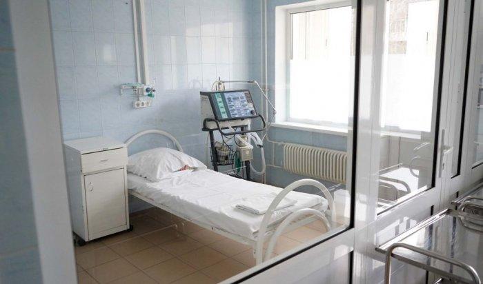 Госпиталь для лечения внебольничных пневмоний в Шелехове планируют сдать в ноябре