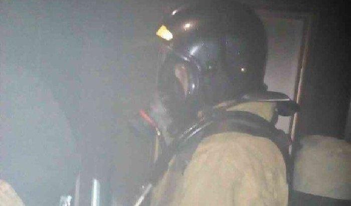 Вчера напожаре вИркутске спаслись 17человек